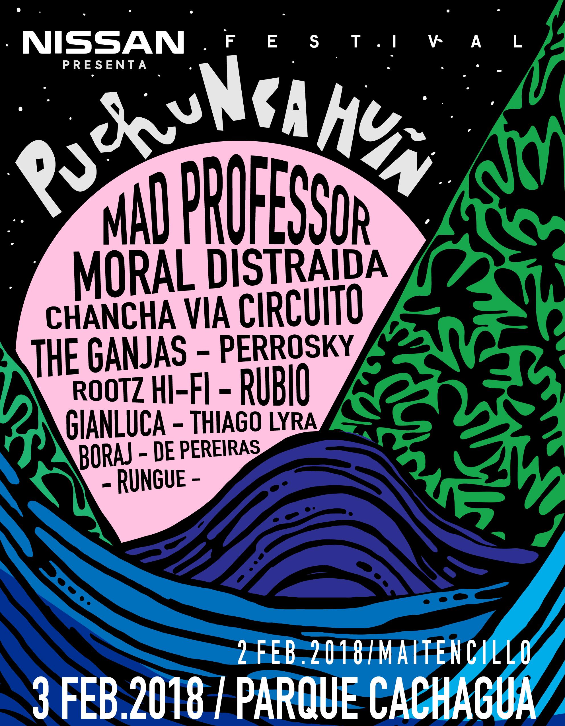El Festival Puchuncahuín 2018 llega con mestizaje electrónico, arte y música