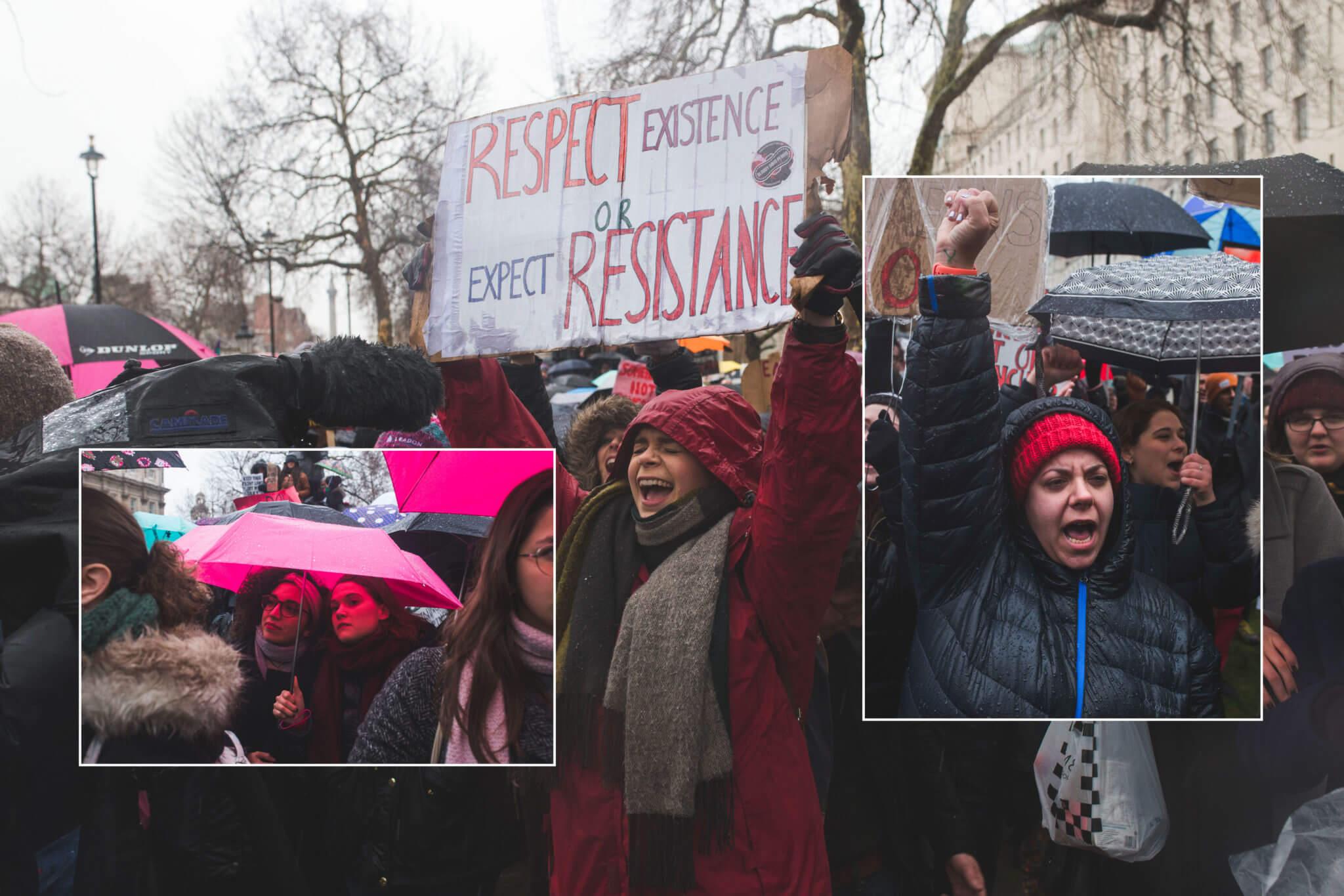 Resistencia y feminismo: Los 7 mejores momentos de la Women's March 2018