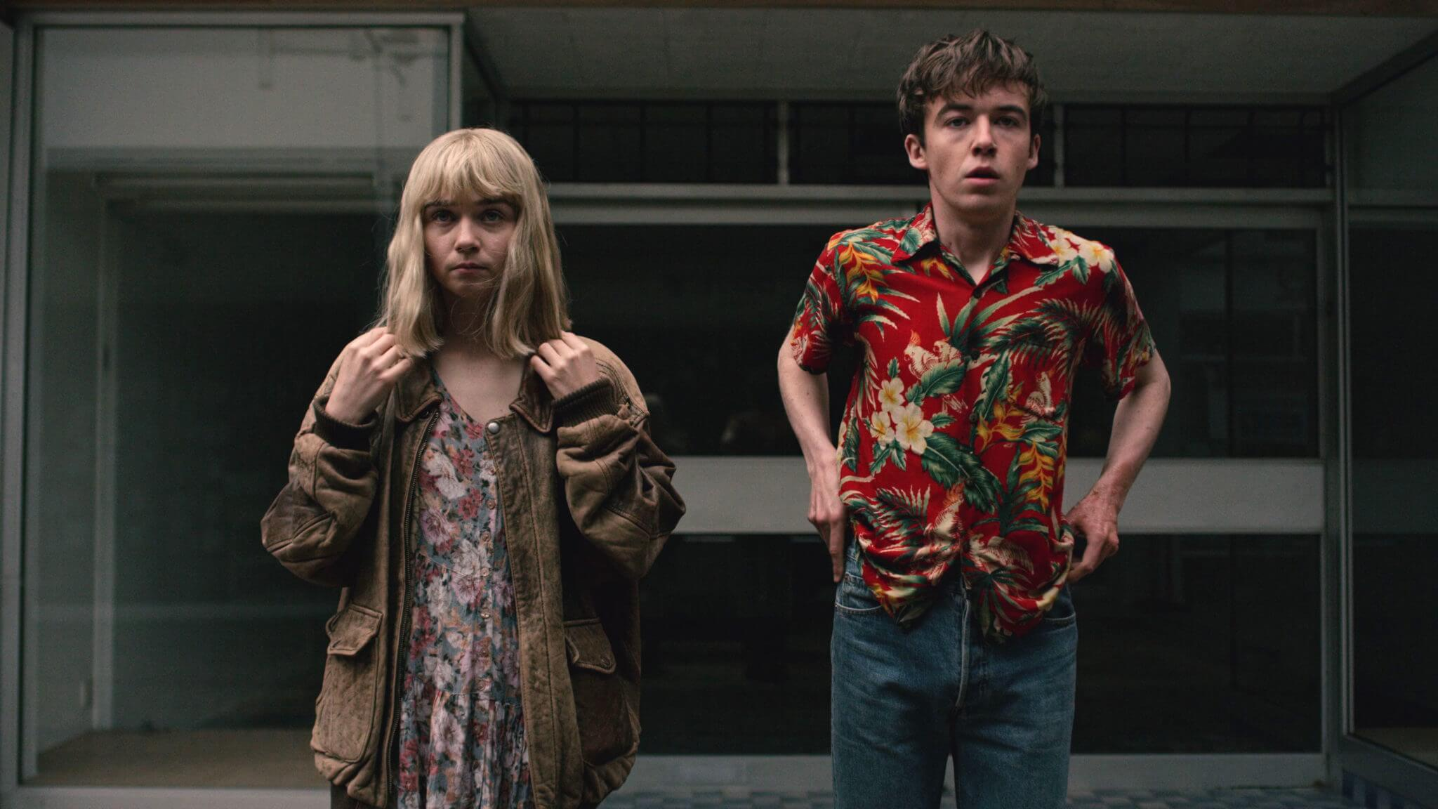 """The End of the F***ing World"": Dos misfits adolescentes que buscan la libertad en un mundo de mierda"