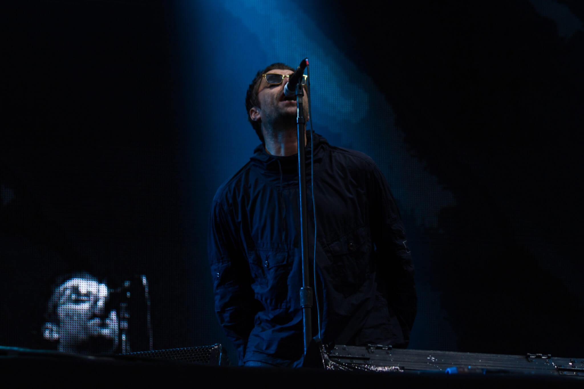 Liam Gallagher @ Lollapalooza Chile 2018. Fotografía: Lukas Cruzat para mor.bo