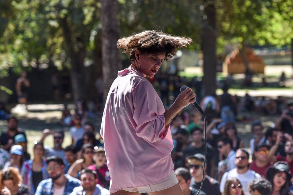 MKRNI. Fotografía: Festival Lollapalooza Chile/Facebook