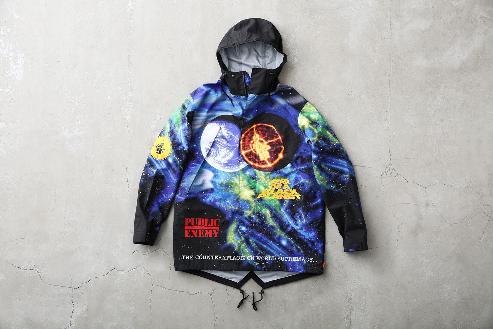 Supreme x UNDERCOVER + Public Enemy 2018. Fotografía: Supreme