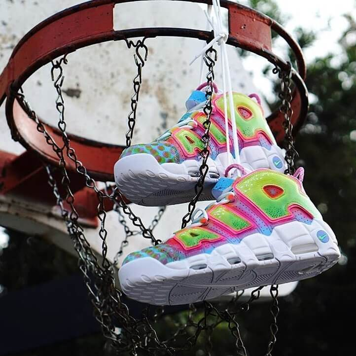 "Las zapatillas inspiradas en ""The Fresh Prince of Bel-Air"". Fotografía: Jimmy Butcher/Instagram"
