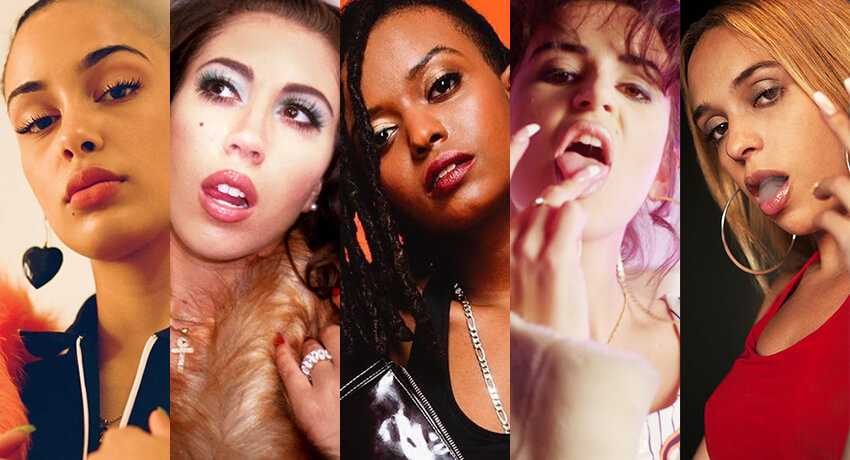 Las 5 bad girls de la música que deberías estar escuchando en este momento
