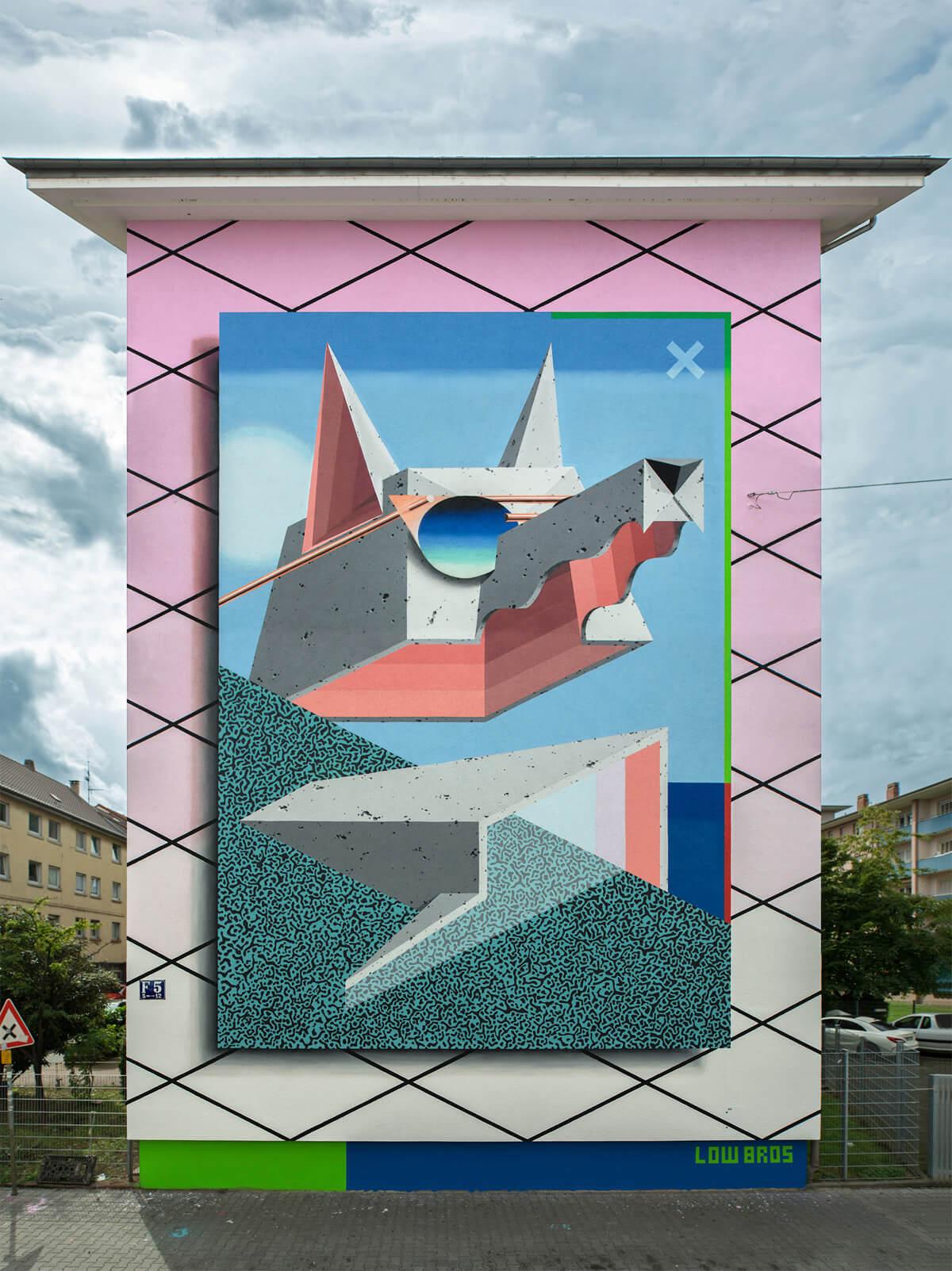 Street art de Low Bros. Imagen: Low Bros.