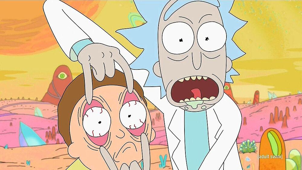 """""""Rick & Morty"""" trollean a sus fans con un bizarro, violento y amorfo cortometraje"""