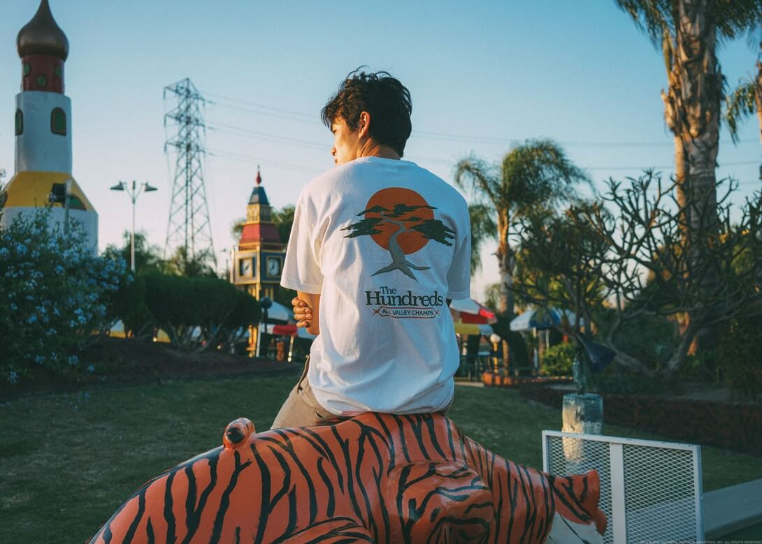 The Karate Kid x The Hundreds. Fotografía: The Hundreds