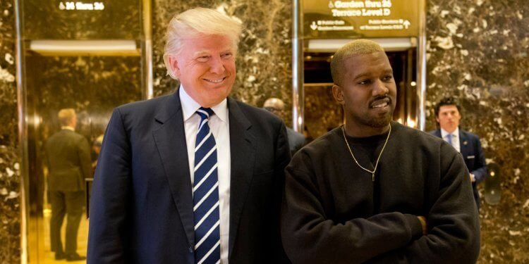Donald Trump y Kanye West- Imagen: Business Insider