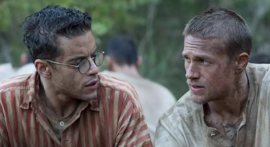 """""""Papillon"""": Rami Malek y Charlie Hunnam planean un épico escape de prisión en su nueva película"""
