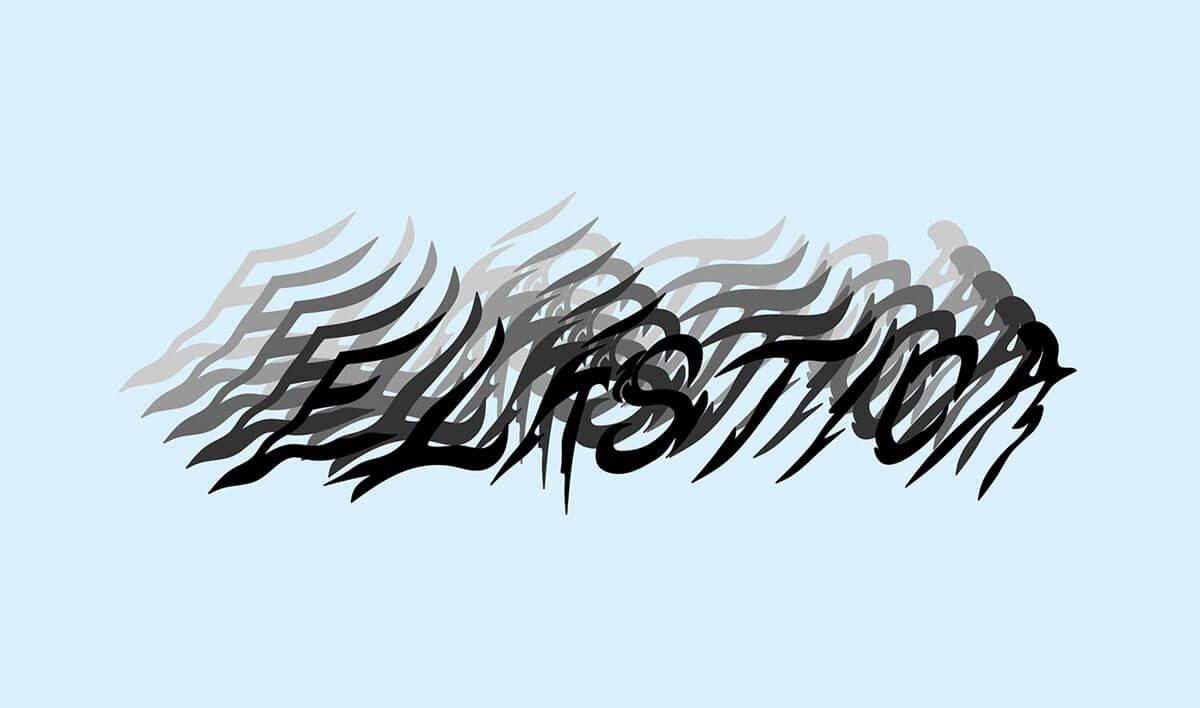 """""""Elástica"""": 5 artistas femeninas se reúnen en una expo de distorsiones abstractas e ilusiones ópticas"""