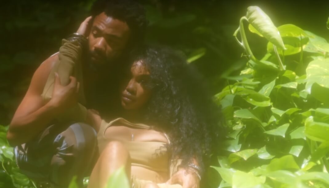 "SZA y Donald Glover son los Eva y Adán del paraíso R&B en el video ""Garden (Say It Like That)"""