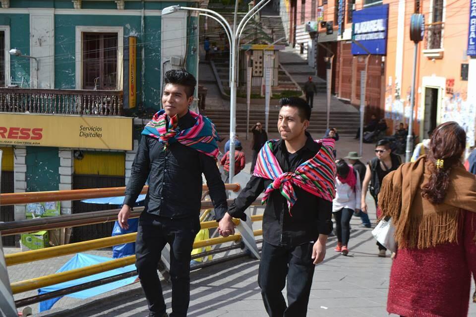 """Conoce al movimiento transgresor """"Maricas Bolivia"""", que luchan por el orgullo de ser """"cholo, pobre y maricón"""""""