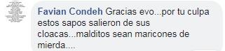 Parte de los comentarios de las fotos de Maricas Bolivia. Imagen: Facebook/Maricas Bolivia