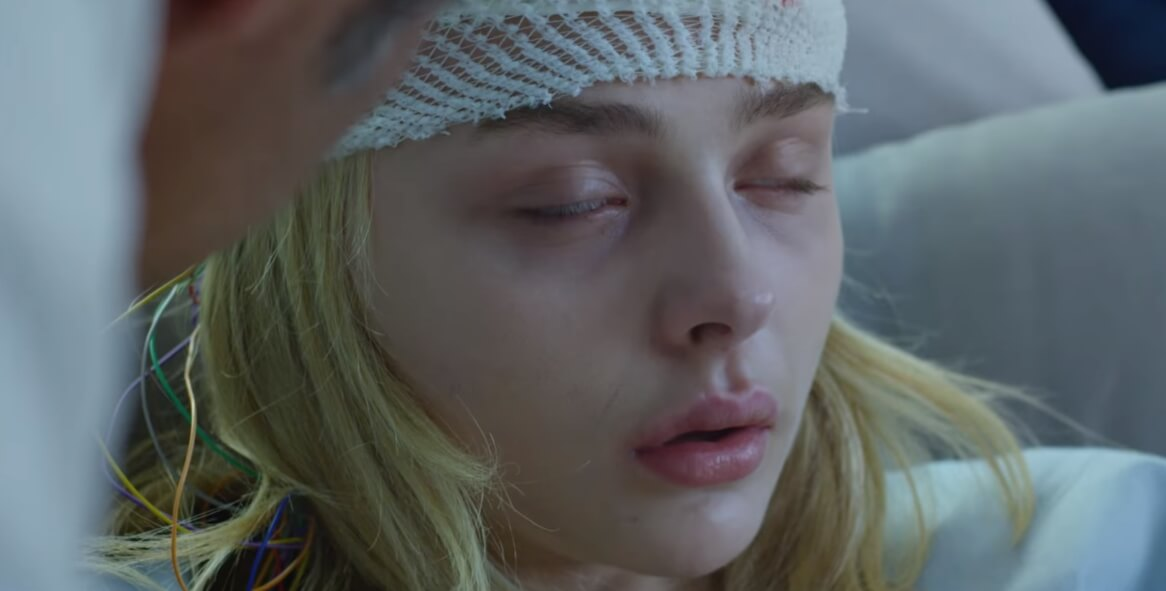 "Chloë Grace Moretz pierde la razón en el trailer de ""Brain On Fire"" de Netflix"
