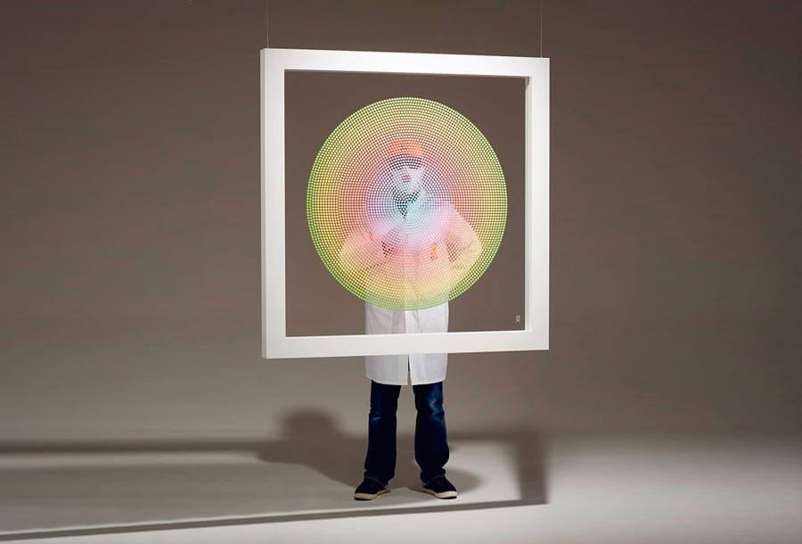 Chemical X, el raver anónimo que crea arte con miles de pastillas de MDMA