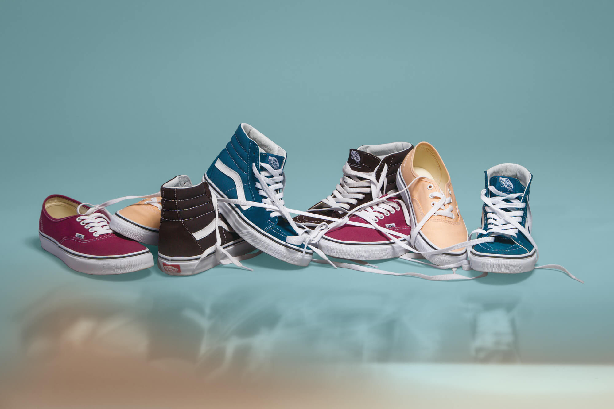 """""""Color Theory"""" by Vans. Fotografía: Vans"""