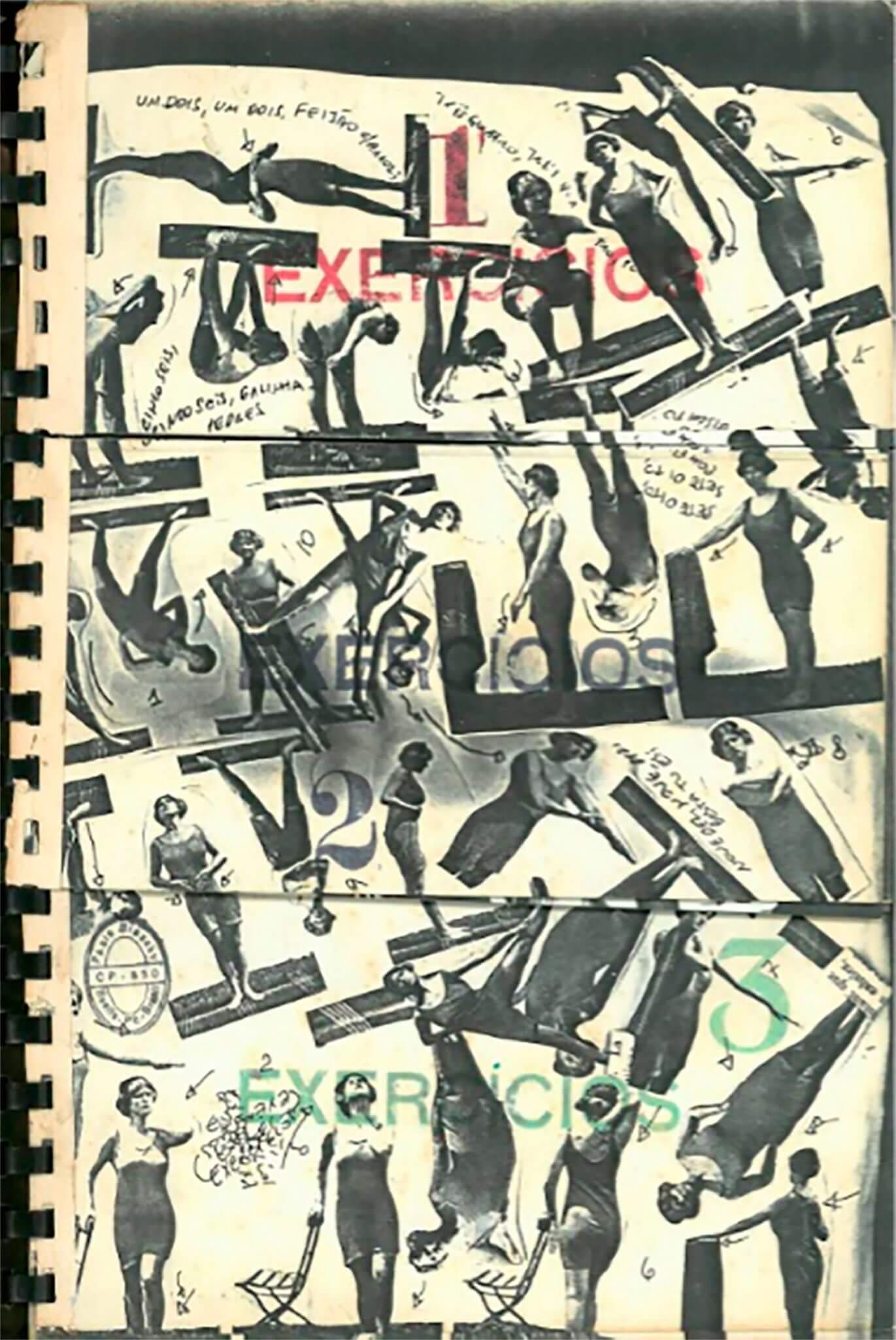 """""""Exercises (Exercícios)"""" (1980) de Paulo Bruscky, una de las piezas que la Galeria Nara Roesler de São Paulo llevará a Art Basel 2018. Imagen: Art Basel"""