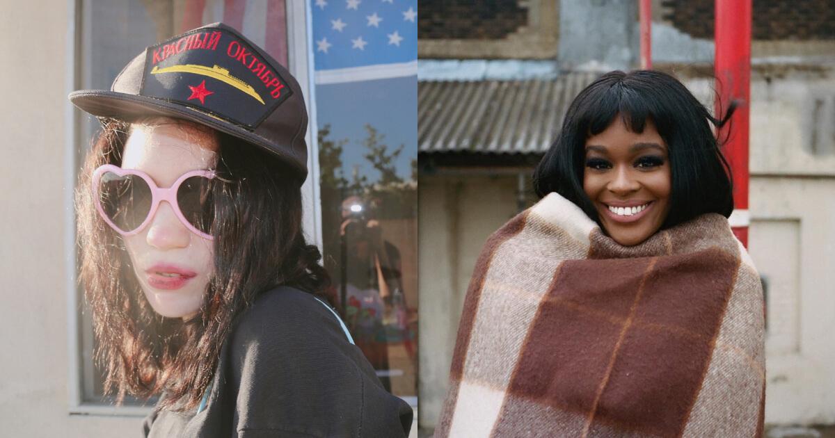 Grimes y Azealia Banks grabarán una canción juntas esta semana
