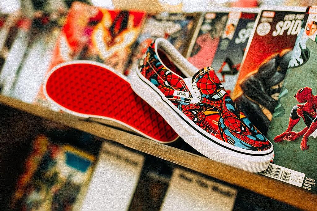 Marvel x Vans. Imagen: Vans