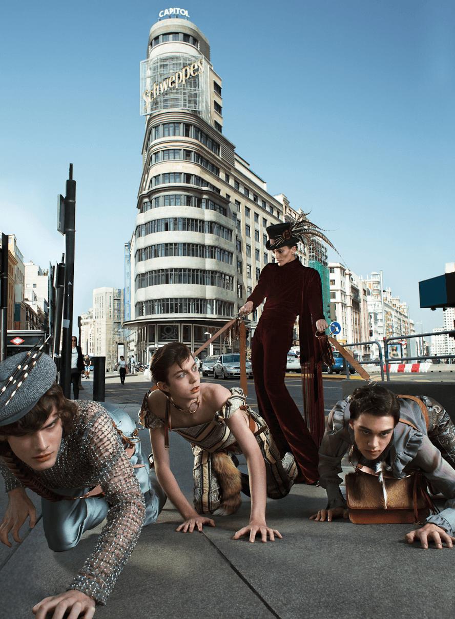 """""""The Hunting"""": El fashion film de Palomo Spain lleno de lujuria, fetichismo y cacería"""