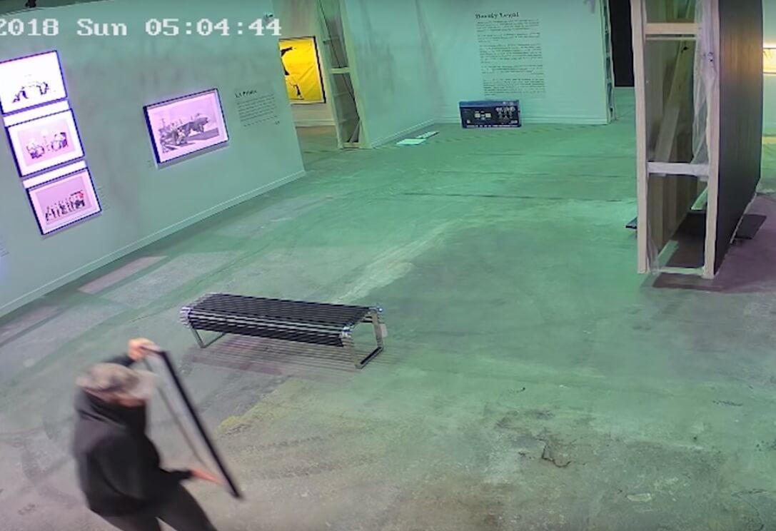 Video: Así robaron una obra de Banksy en Canadá valorada en 35.000 dólares