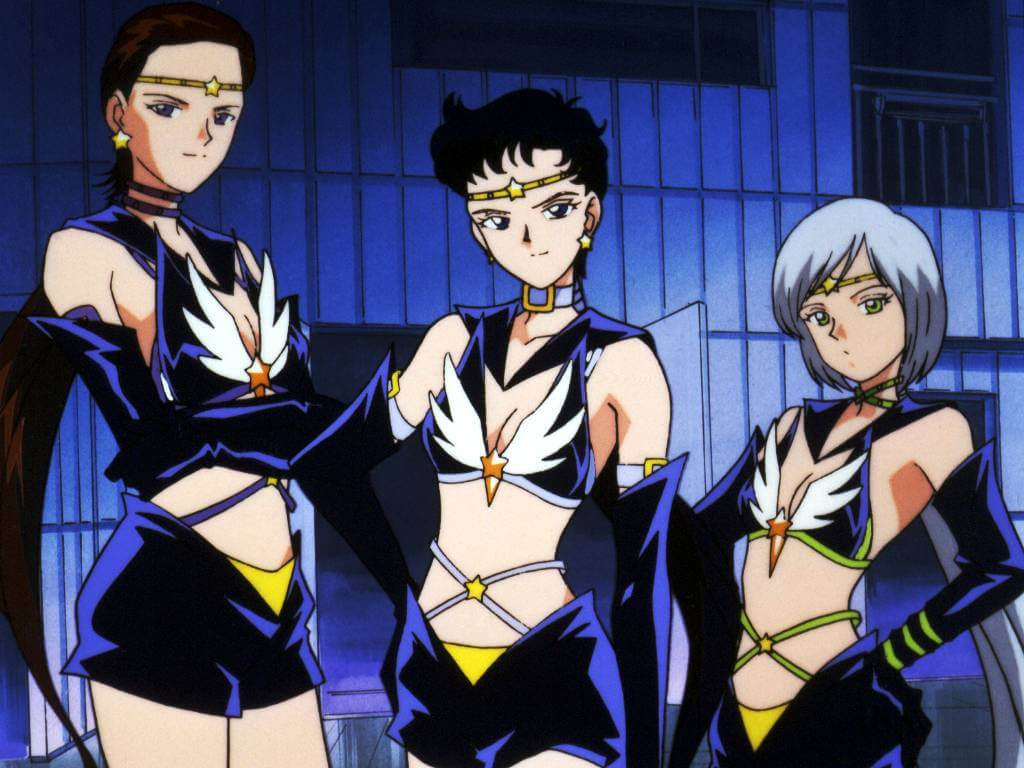"""Sailor Stars"", los capítulos de ""Sailor Moon"" con tres alienígenas trans que aún no has visto"