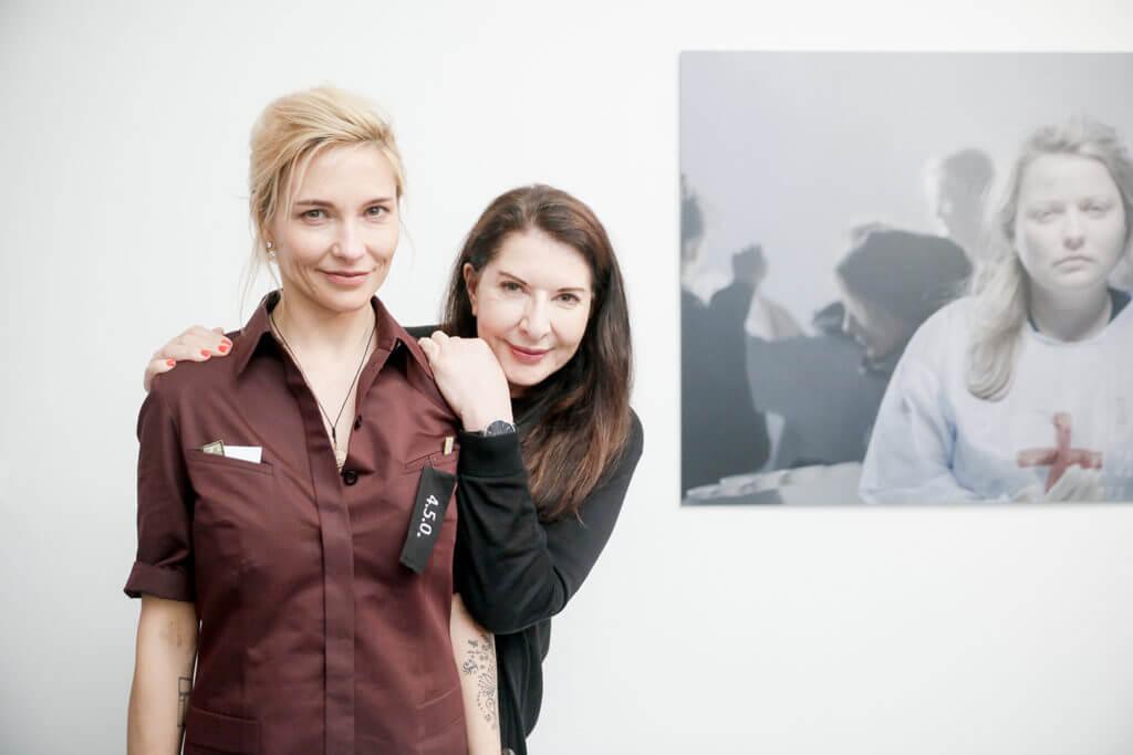 Zinaïda y Marina. Fotografía: Artnet