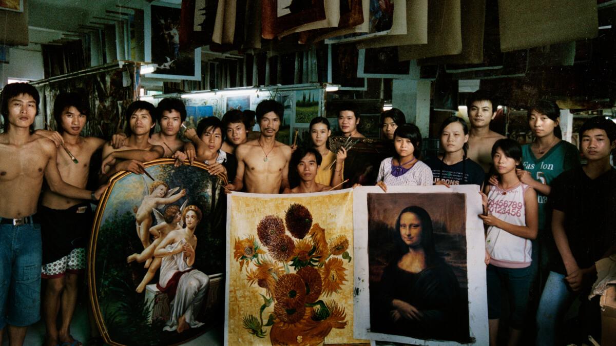Así fue como un pintor chino que copiaba a Van Gogh terminó en Amsterdam para ver de cerca las pinturas de su ídolo