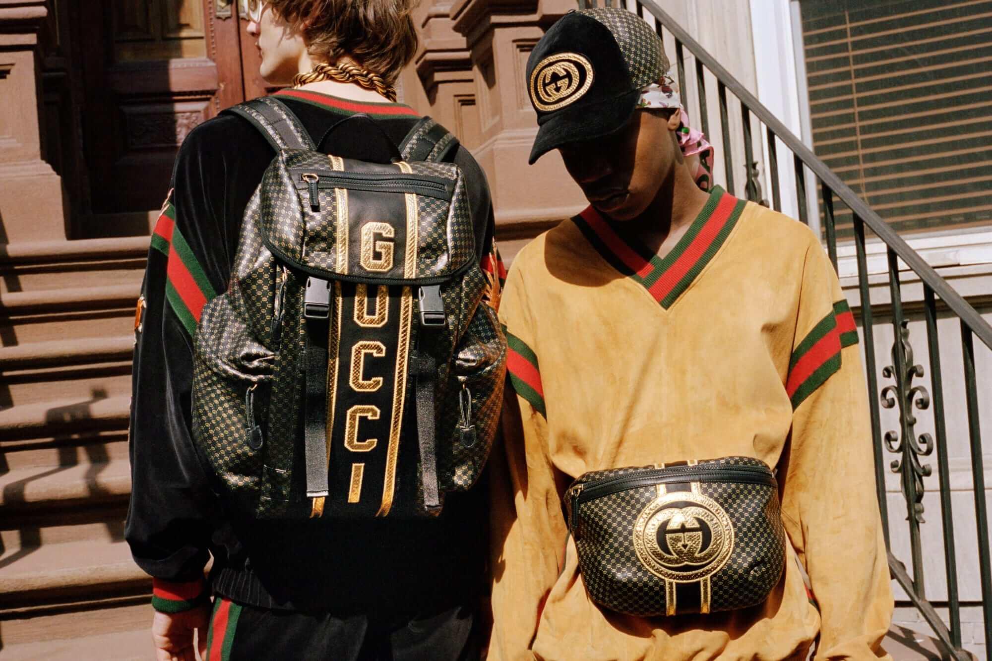 Dapper Dan x Gucci. Fotografía: Ari Marcopoulos/Gucci