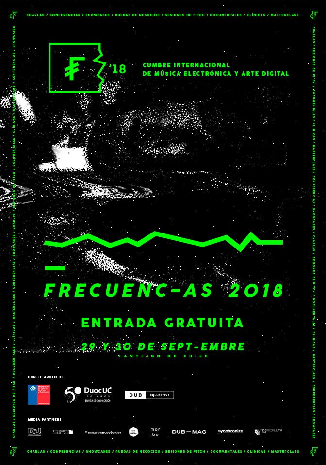 Frecuencias 2018: Se viene el segundo encuentro de la música electrónica sudamericana