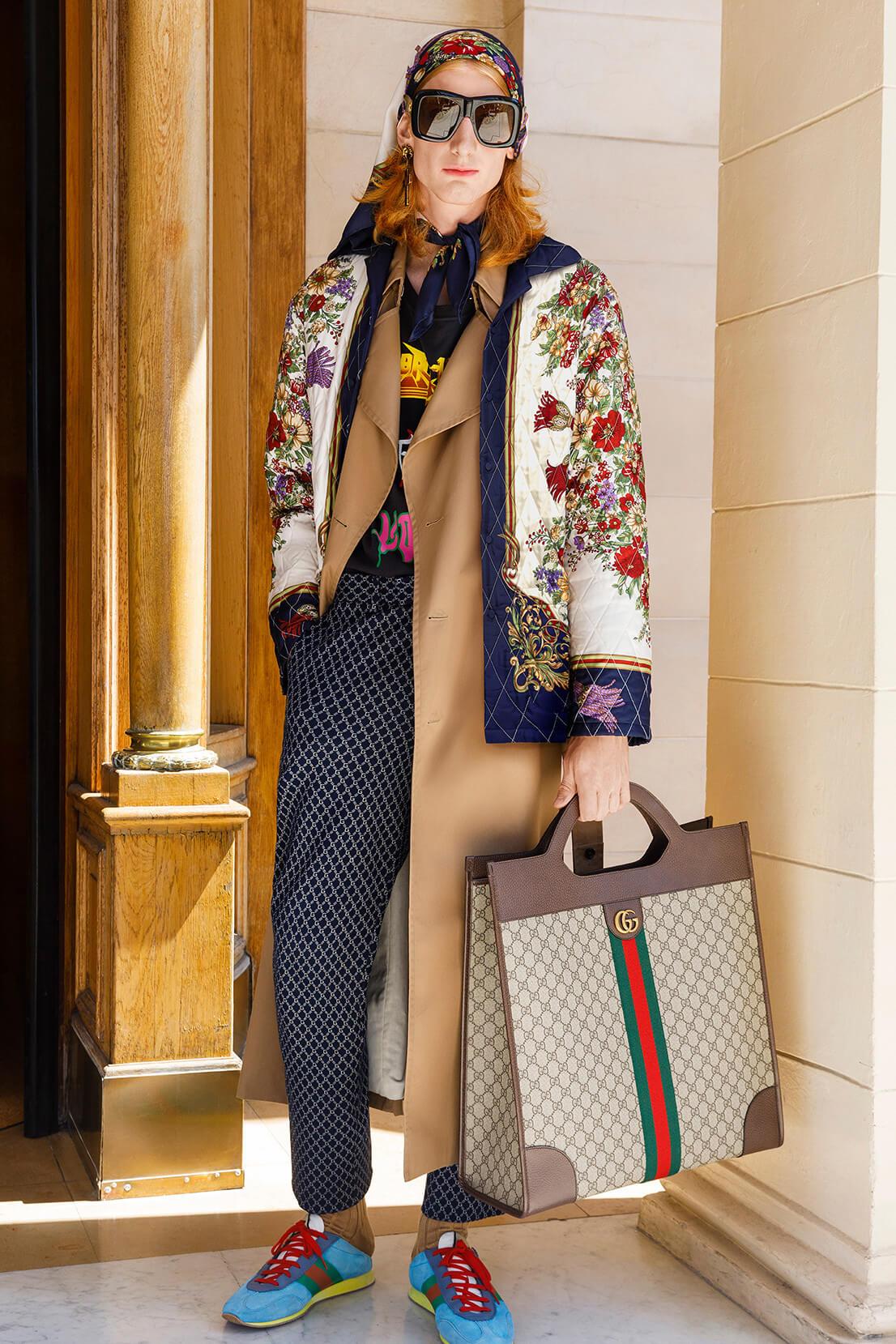 Gucci Cruise 2019. Fotografía: Martin Parr/Gucci
