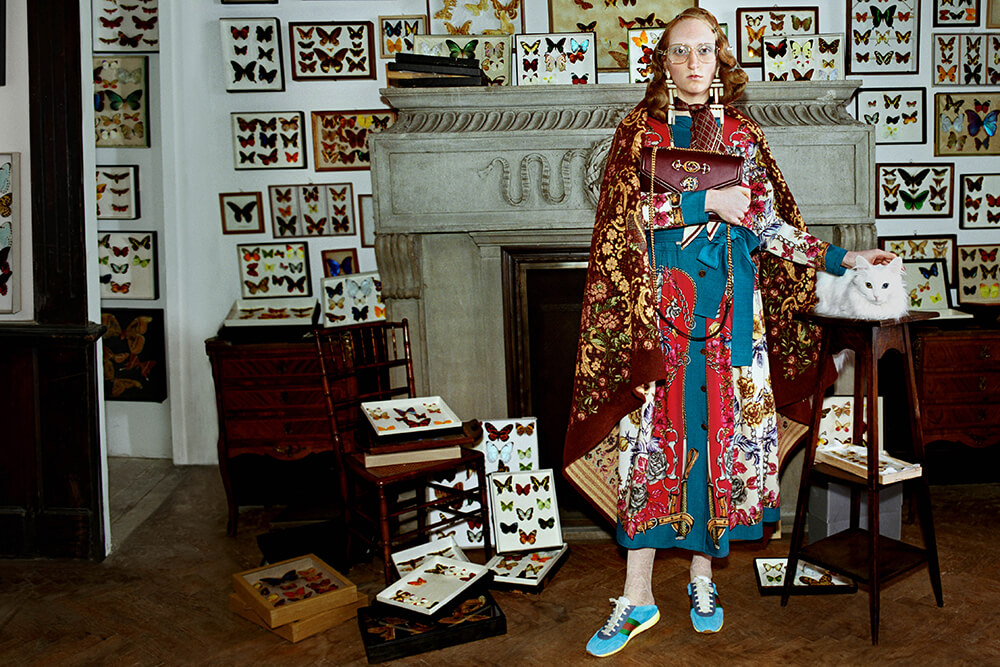 Gucci Fall/Winter 2018. Fotografía: Glen Luchford/Gucci
