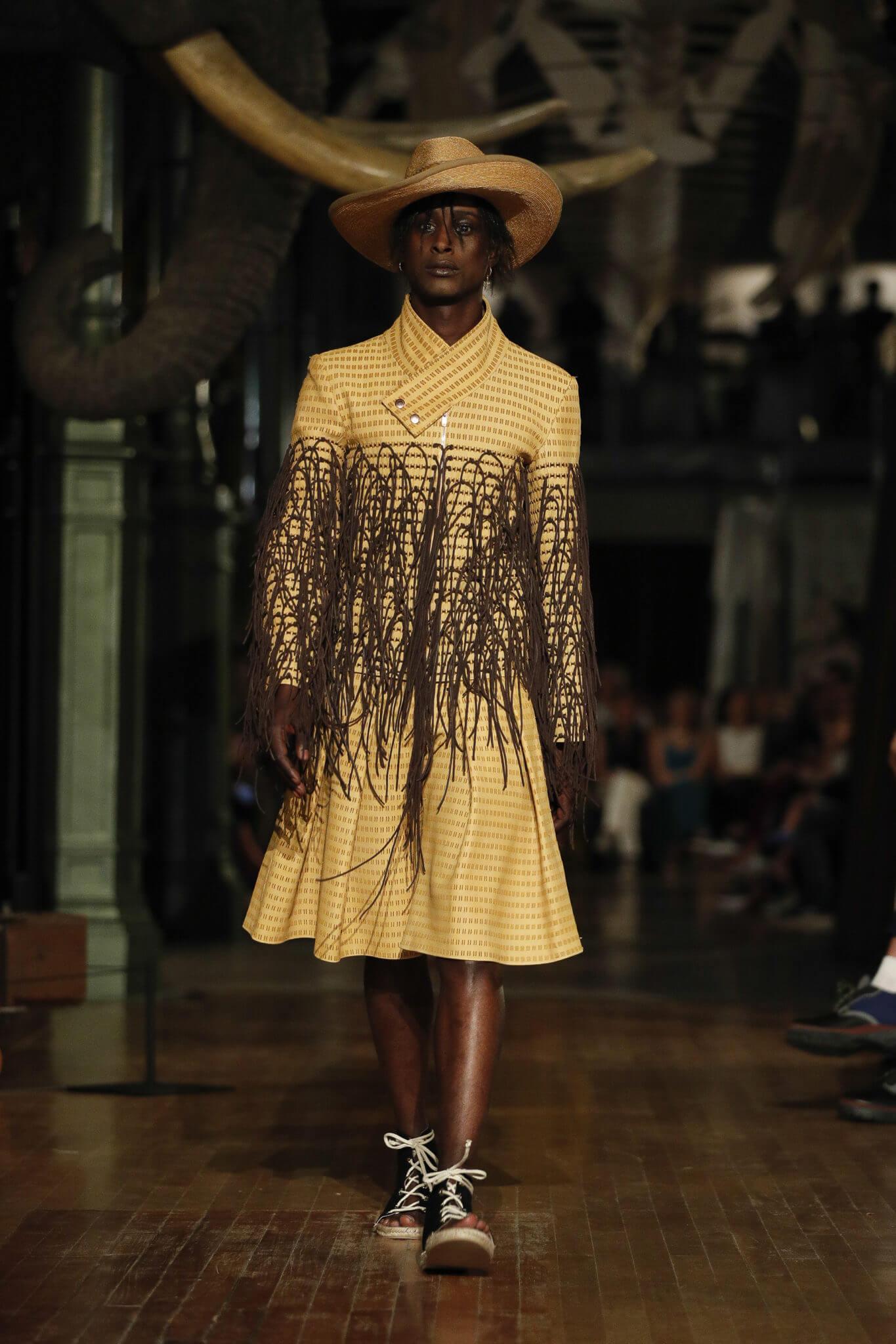 Palomo Spain @ Mercedes Benz Fashion Week 2018. Fotografía: GTRES
