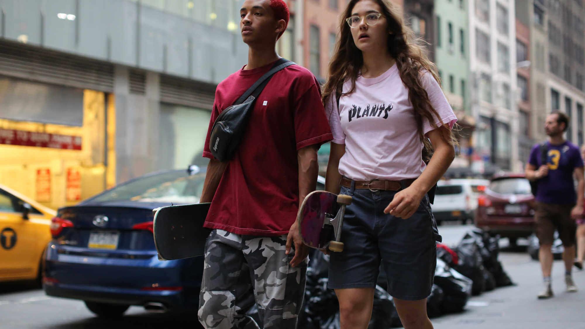 «Skate Kitchen», la película de Jaden Smith sobre las adolescentes skaters rebeldes de NYC