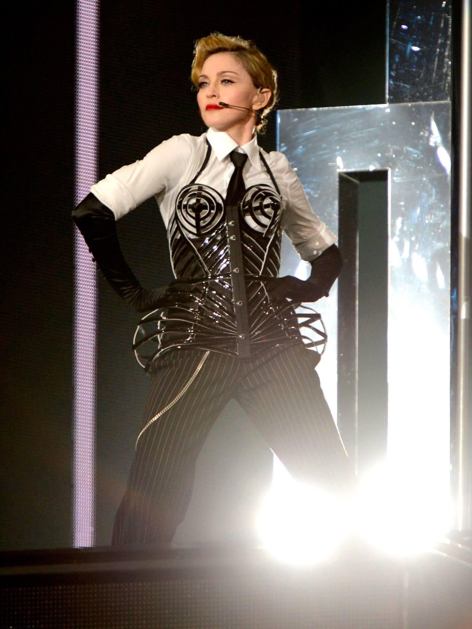 Madonna en el MDNA Tour de 2012. Fotografía: Getty Images