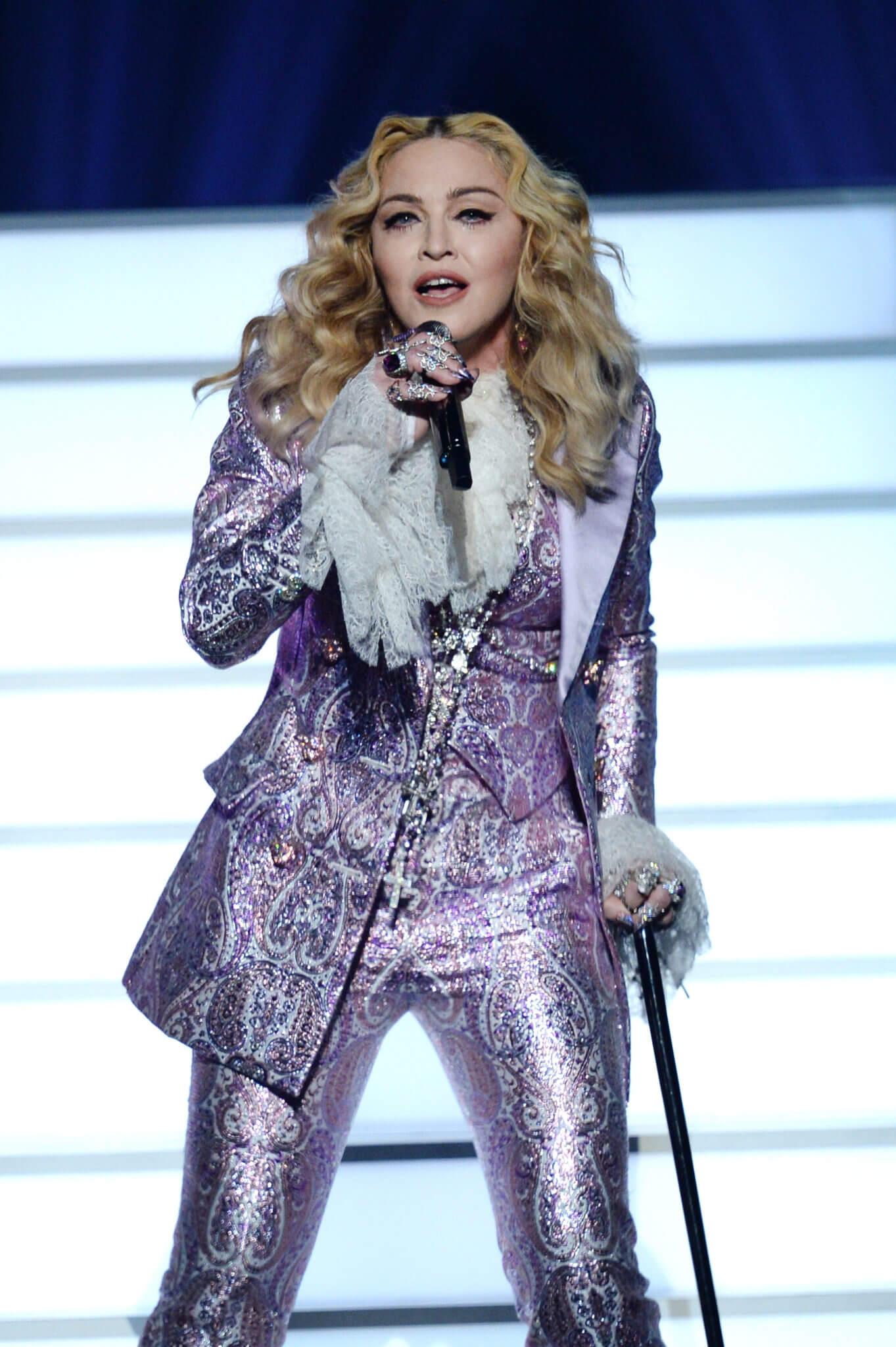 Madonna en los Billboard Music Awards de 2016. Fotografía: Kevin Winter/Getty Images