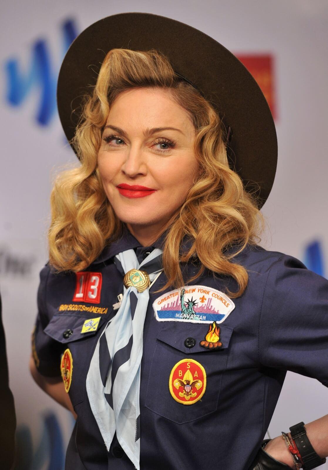 Madonna en los 24th Annual GLAAD Awards. Fotografía: Getty