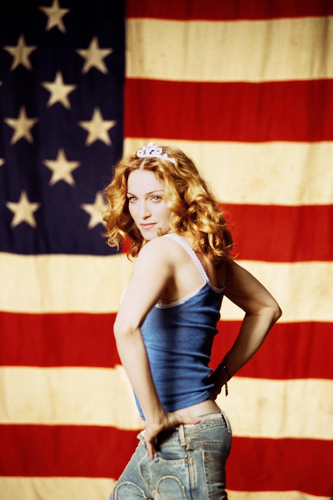 """Madonna en su video """"American Pie"""""""
