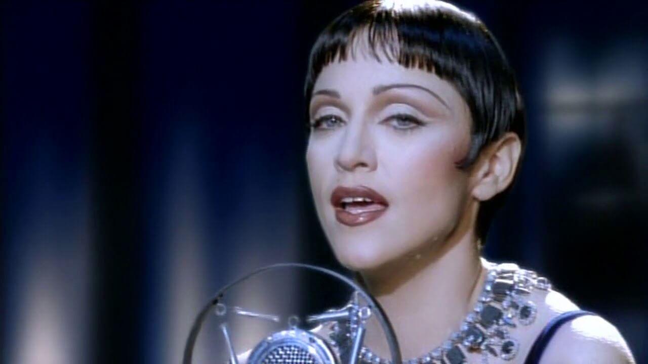 """Madonna en su video """"I'll Remember"""""""