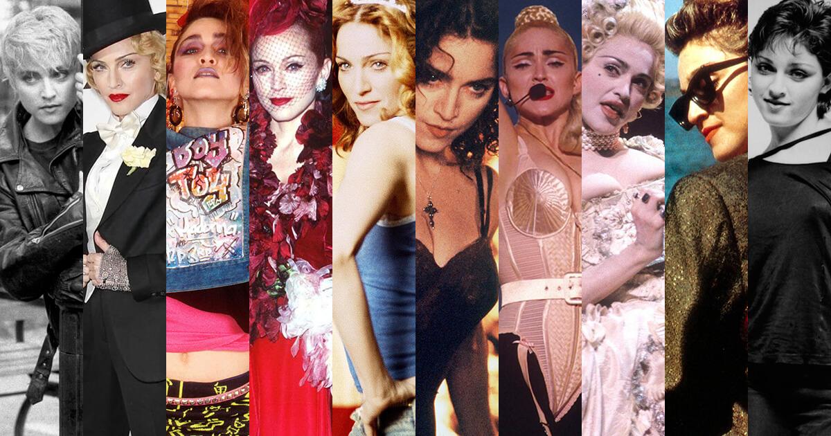 Strike a pose: 60 años de Madonna en 60 looks icónicos