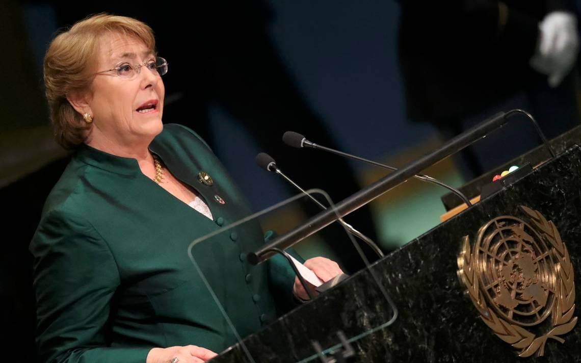 La ONU quiere a Michelle Bachelet como su nueva Alta Comisionada de Derechos Humanos