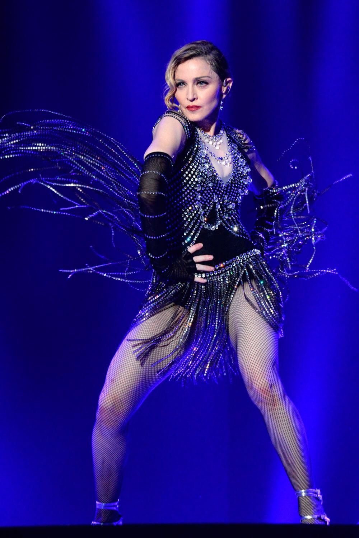 Madonna en la gira Rebel Heart del 2015. Fotografía: Splash