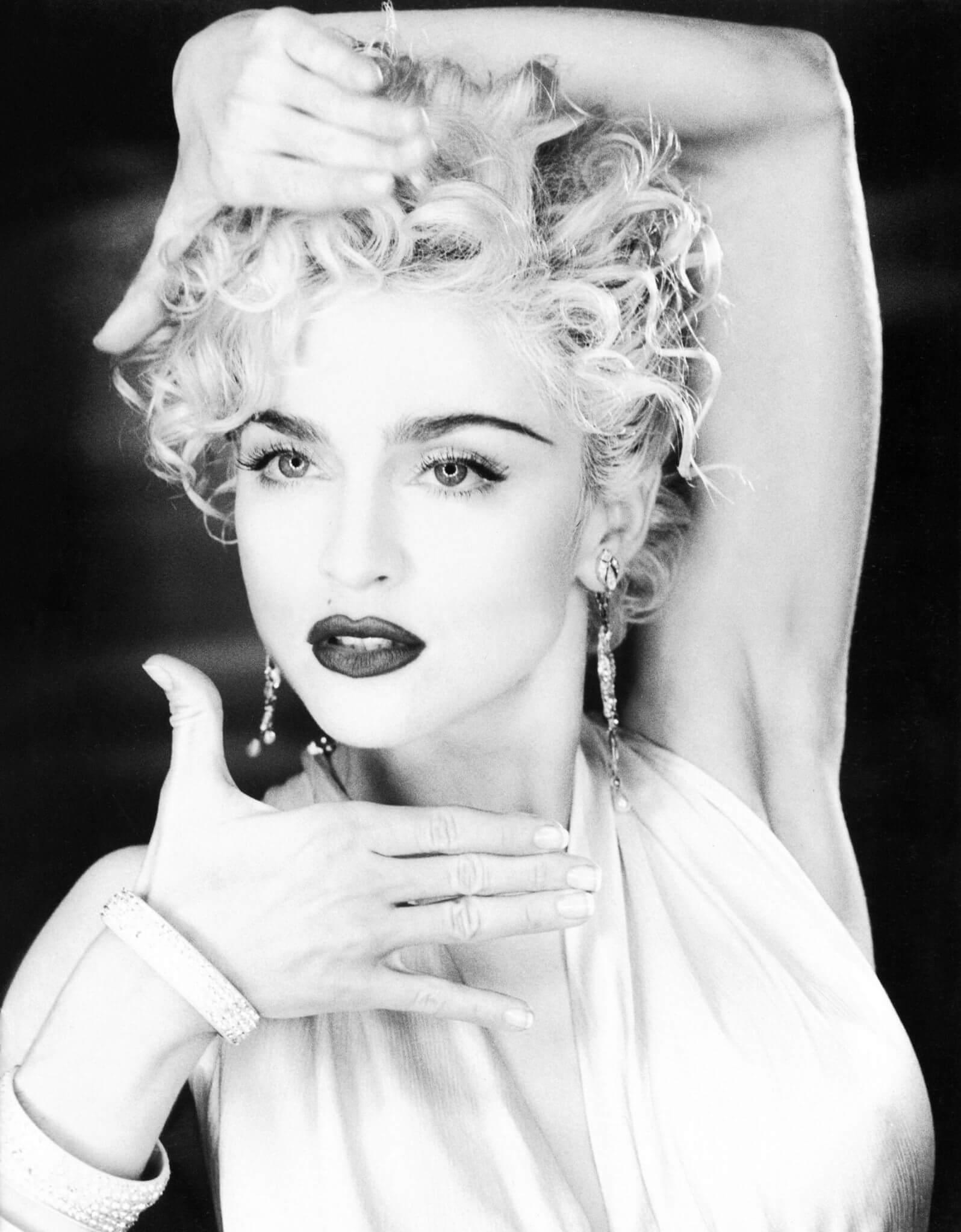 """Madonna en su video """"Vogue"""""""