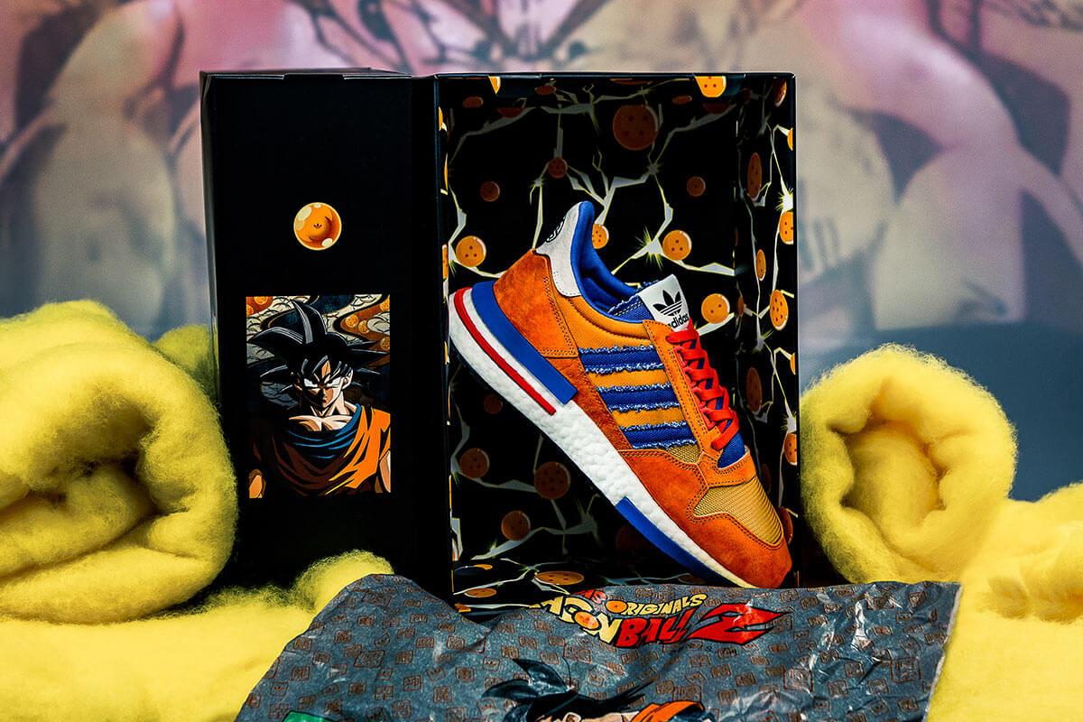 La zapatilla Goku de la colaboración de adidas y Dragon Ball Z aterriza esta semana