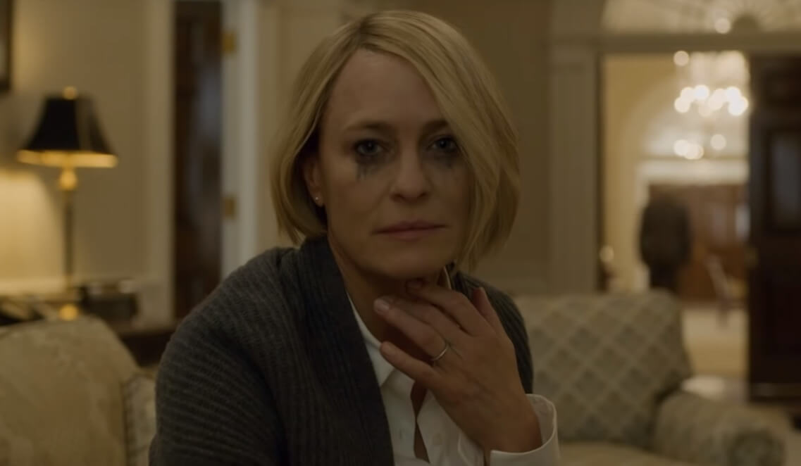 "Claire Underwood toma el control en el trailer final de ""House of Cards"""