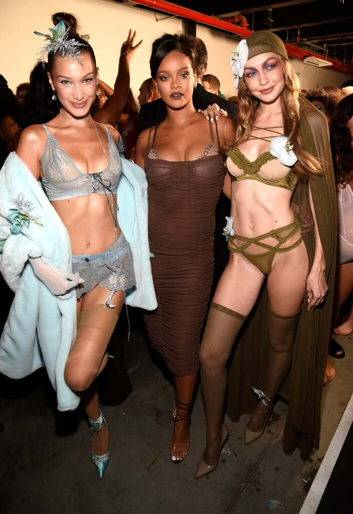 Savage x Fenty @ NYFW 2018. Fotografía:Getty Images