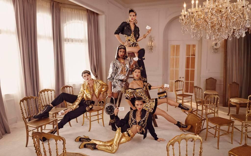 Así se ve la nueva colección de Jeremy Scott y Moschino para H&M con Gigi Hadid