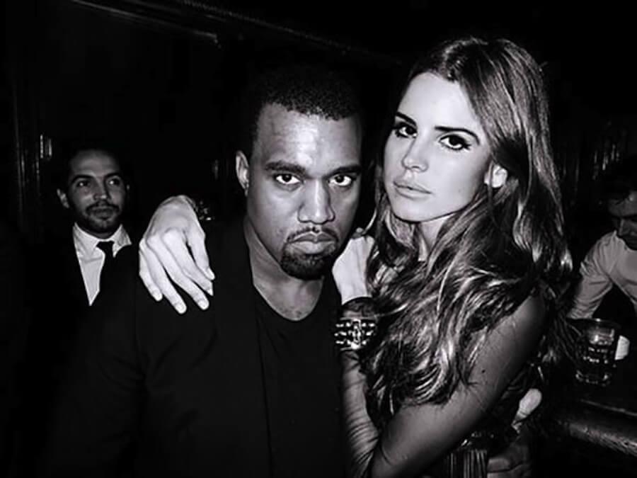 """Lana Del Rey se cansó de los comentarios de Kanye West: """"Necesitas una intervención"""""""