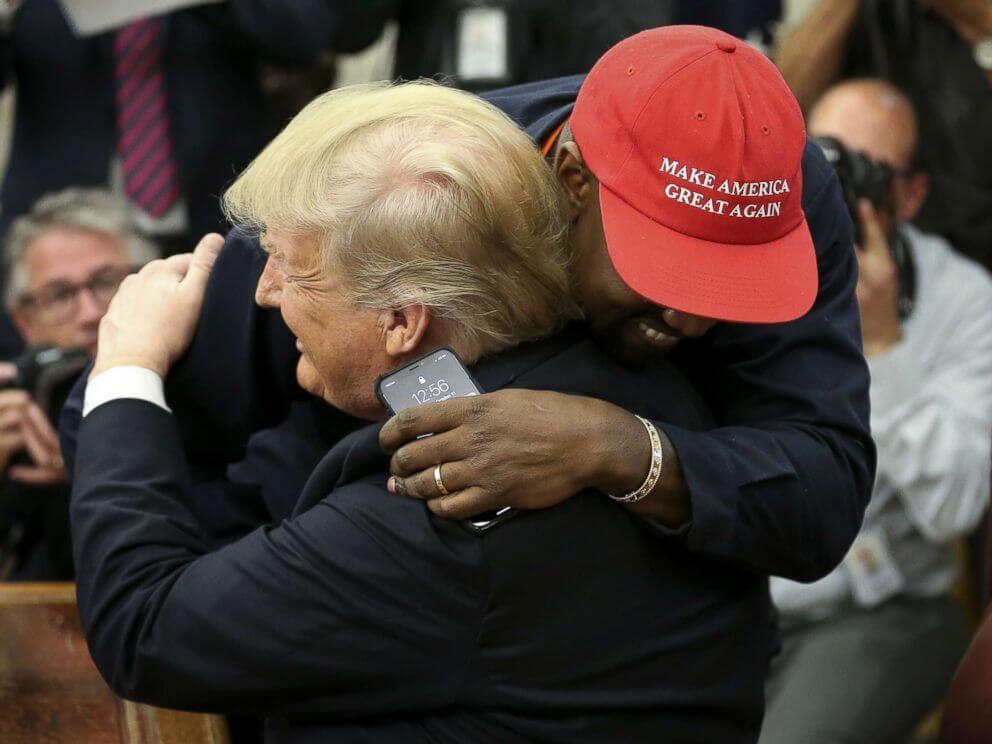 Las 7 citas más salvajes de Kanye West en su visita a Donald Trump en la Casa Blanca