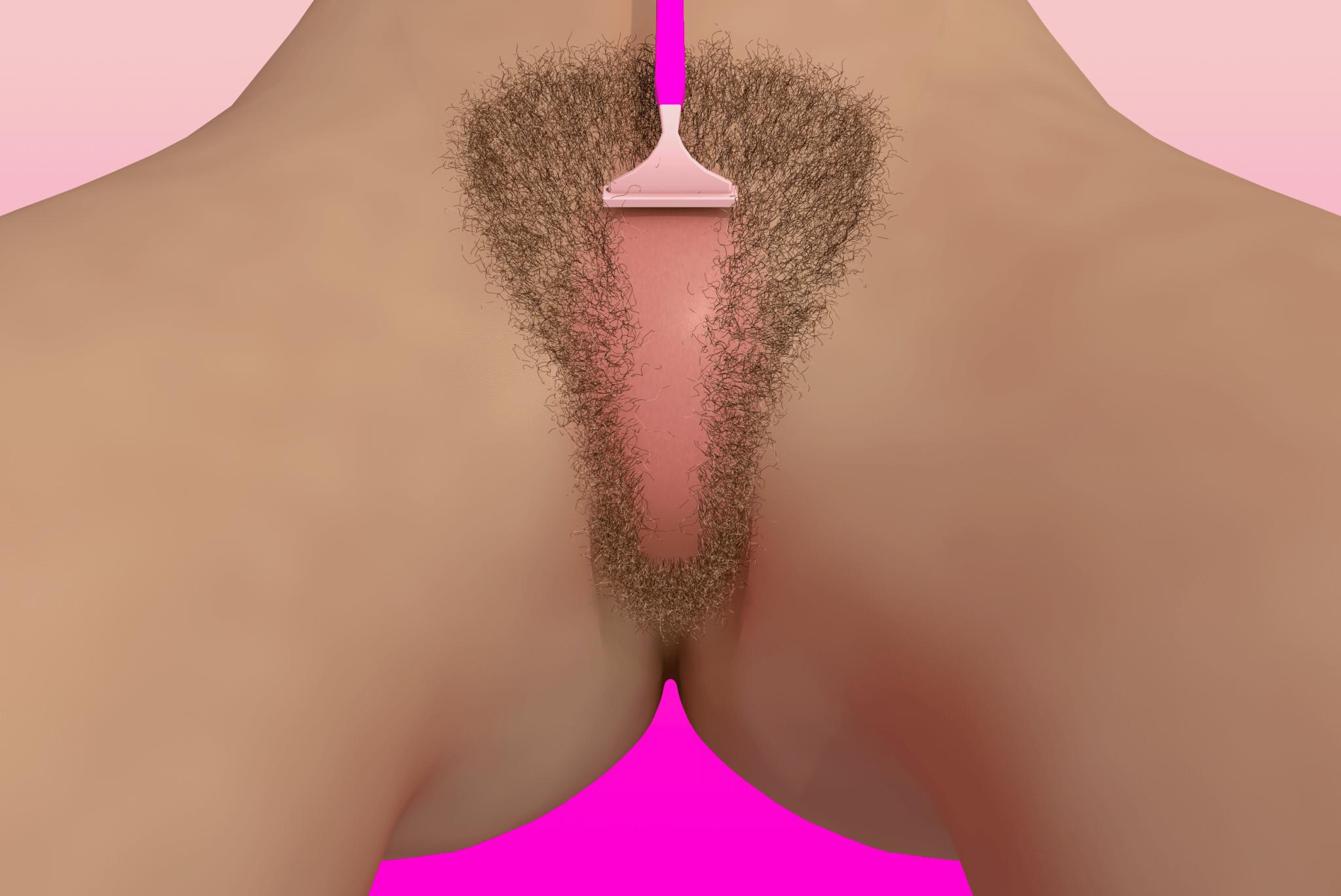 Shaved. Ilustración: Can Sezer/Girls Unawares